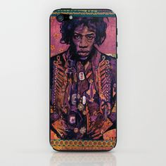 Jimi Hendrix Expierience iPhone & iPod Skin by Ray Stephenson - $15.00