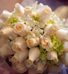 #bouquet #pearls #springflowers