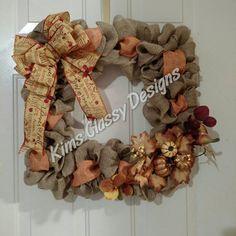 Items similar to Fall decor wreath burlap square flowers ribbon on Etsy Wreath Burlap, Diy Wreath, Deco Mesh Wreaths, Door Wreaths, Autumn Wreaths, Wreath Fall, Picture Frame Wreath, Square Wreath, Fall Decor