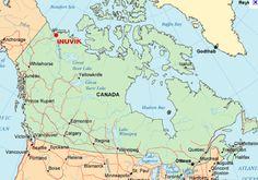map of nunavut iqaluit