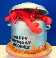 Lobster Birthday Cake #Lobster #JoesCrabShack