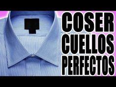 COMO COSER EL CUELLO DE LA CAMISA(3) - YouTube