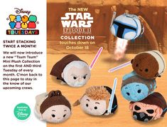 Attack of the Clone Wars Tsum Tsum set to be released on October 18. You can order yours on that date by clicking here.