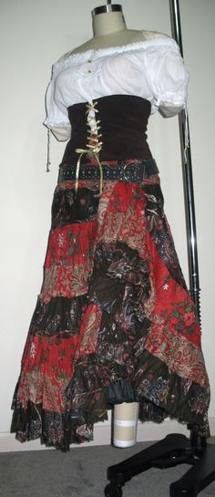 Renaissance Gypsy Costumes. $59.99, via Etsy.