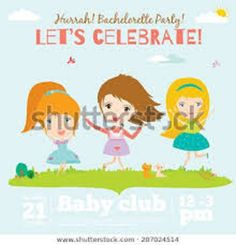 vector birthday invitation jump