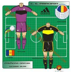 CE Principat of Andorra kits for Andorra, Football Team, Adidas, Logo, Shirts, Logos, Football Squads, Dress Shirts, Shirt