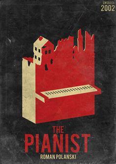 The Pianist... Roman Polanski masterpiece starring the magnificent   Adrien Brody.