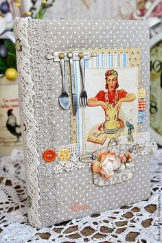 Cookbooks handmade.  Fair Masters - handmade.  Buy Culinary notebook.  Handmade.  Cookbook, girl gift