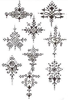 Henna Design Templates