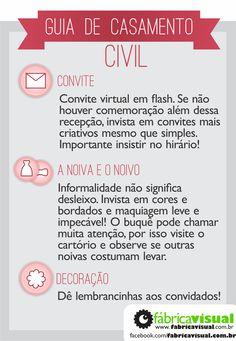 Guia do casamento civil