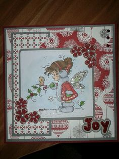 Winter Fairy - #Sylvia Zet/ #WeeStamps, #Copic