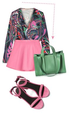 """""""polycool"""" by namelifny1 ❤ liked on Polyvore featuring Alexander Wang, Emilio Pucci, RED Valentino, Corto Moltedo, chic, colorful and polyvoreeditorial"""