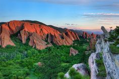 Roxborough State Park, Southwest of Denver