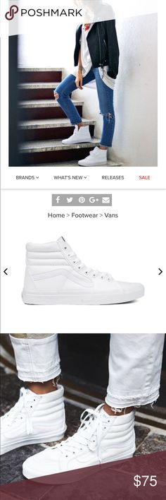 91954a8054 8 Best leather high top sneakers images
