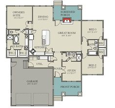 Modern Prairie Pleaser - 25402TF | 1st Floor Master Suite, Bungalow, CAD Available, Craftsman, Den-Office-Library-Study, Northwest, PDF, Prairie, Split Bedrooms | Architectural Designs