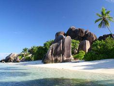 La plage d'Anse Source d'Argent aux SeychellesVoir toutes les photos de Laurent Fatin