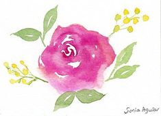 ACEO ROSES Flowers Art PRINT of Oil Painting by VERN
