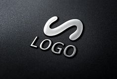 Free 3D Chrome Logo MockUp (25.6 MB) | free-designs.net | #free #photoshop #mockup #3d #chrome #logo