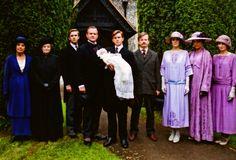 downton abbey family photo  with BABY SYBIL