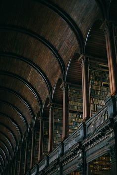 Trinity College Library, The Long Hall by Beth Kirby | {local milk}, via Flickr
