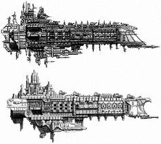 Oberon-class Battleship - Warhammer 40K Wiki - Space Marines, Chaos, planets, and more