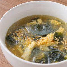 卵とわかめの春雨スープ 作り方・レシピ | 料理(レシピ)動画のクラシル