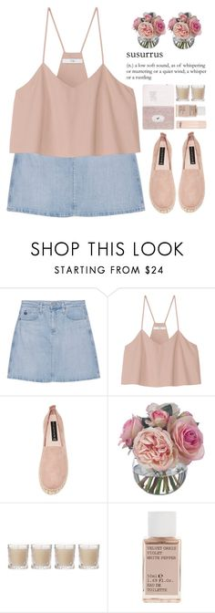 Susurrus by mirrours on Polyvore featuring moda, TIBI, AG Adriano Goldschmied, Steven, Korres, Chloé, Diane James and Shabby Chic