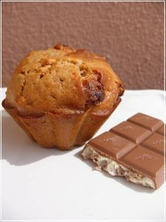 Cupcakes et muffins Love Cake, Dessert Recipes, Desserts, Chocolate, Allrecipes, Biscuits, Banana Bread, Yummy Food, Yummy Yummy