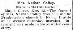 Coffey, Amanda C McGillen Obituary