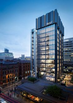 Bruntwood announces plans for new collaborative workspace neo - Manchester Evening News Office Building Architecture, Building Facade, Facade Architecture, Building Design, Office Buildings, Unique Buildings, Beautiful Buildings, Facade Design, Exterior Design