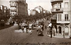Av. Almirante Reis, Lisboa (E.Portugal, c. 1943)