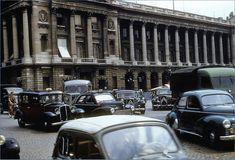 Le trafic de la place de la Concorde en 1955  (Paris 8ème)