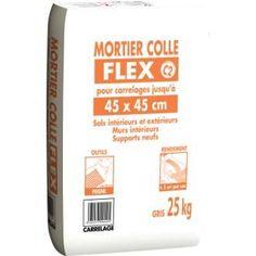 Mortier Colle Poudre Axton Blanc 25 Kg 5 M² Deco