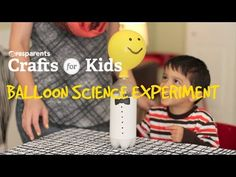 Balloon Science Experiment   Crafts for Kids   PBS Parents - YouTube