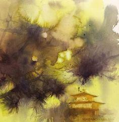 by Yuko Nagayama Pastel Watercolor, Watercolor Landscape, Watercolour Painting, Watercolors, Japanese Artists, Gouache, Still Life, Paint Colors, Art Photography