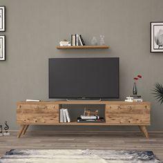 Just Home Elit Tv Ünitesi - Atlantik Çam | Evidea