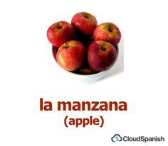 la manzana (apple)