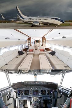 🔎 Do you have contacts? Or are you in business? Do you have contacts or are you an influential person? Enter a unique partnership, + info Luxury Jets, Luxury Private Jets, Private Plane, Private Jet Interior, Yacht Interior, Boeing Business Jet, Fuel Truck, Aircraft Interiors, Airplane For Sale