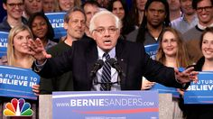 Fallon's extremely amusing Bernie Sanders impression - New Hampshire Victory Speech