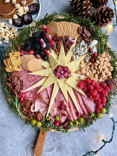 Christmas Cheese, Christmas Party Food, Christmas Brunch, Xmas Food, Christmas Appetizers, Christmas Cooking, Holiday Parties, Mary Christmas, Christmas Tree