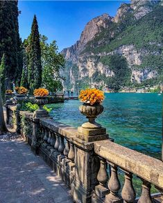 Lake Garda - Italy 💛💛💛 Courtesy of Founders: 📍Riva del Garda, Italy 🇮🇹 Tag your best travel photos with… Places To Travel, Places To See, Travel Destinations, Travel Trip, Travel Deals, Adventure Travel, Wonderful Places, Beautiful Places, Peaceful Places