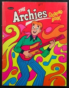 The Archies Coloring Book 1969 Unused File Copy   eBay