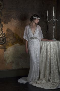 2016 Wedding Dresses Eliza Jane Howell 'The Grand Opera' Collection I'm blown away by today's theatrical-inspired wedding dress feature. Gill Harvey has brought together her years of experience to create Eliza Jane Howell Vintage Inspired Wedding Dresses, 2016 Wedding Dresses, Wedding Dress Trends, Bridal Dresses, Vintage Dresses, Wedding Gowns, 1920s Wedding, Wedding Parties, Lace Dresses