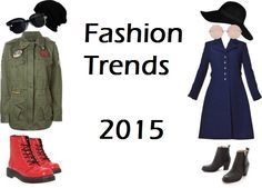There are going to be a lot of great fashion trends coming up in 2015 and 2016. We are all excited about fashion