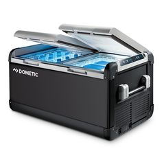 Dometic CFX-95DZW CoolFreeze Portable Powered Dual Zone Cooling Box w/WiFi - Refrigerator/Freezer - 3.3cu.ft.