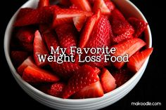 Lose Weight by Eating Strawberries