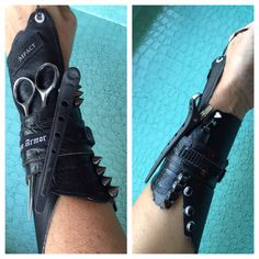 Gauntlet for hair tools! What?!