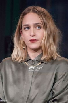 Jemima Kirke attends AOL Build Speaker Series - Zosia Mamet, Jemima Kirke, Jenni Konner, Jake Lacy and Alex Karpovsky, 'Girls' at AOL Studios In New York on February 16, 2016 in New York City.