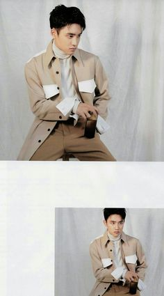 Kyungsoo [SCAN] for Marie Claire, October 2018 issue Kaisoo, Kyungsoo, Chanyeol, Exo Korean, E Dawn, Exo Do, Do Kyung Soo, Precious Children, Kpop