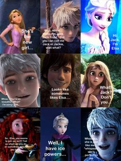"Part 2, ""perfect to me"" looks like someone likes Elsa.."